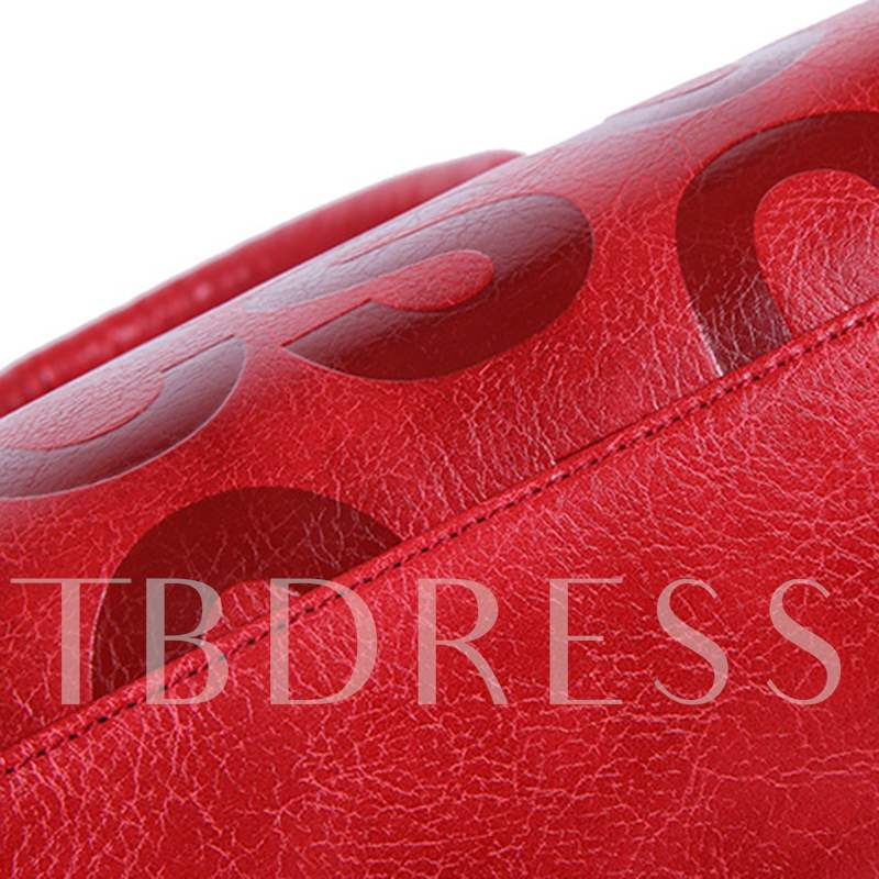European Trendy Letter Embossing Bag Sets