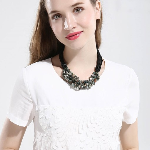 Creative Natural Stone Short Necklace