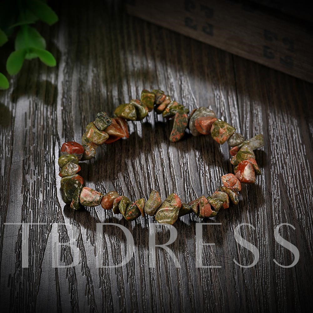 Natural Stone Beaded Casual Fashion Bracelet