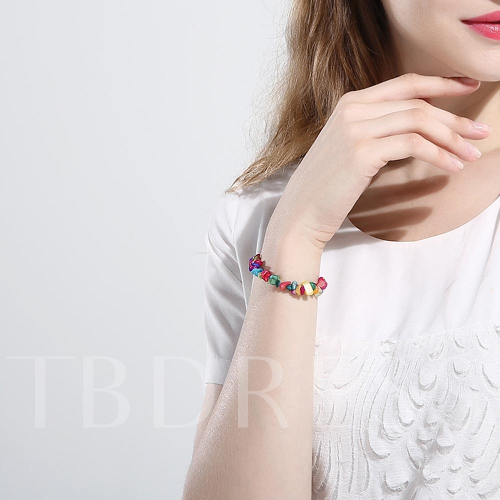 High Quality Colorful Stone Dynamic Bracelet