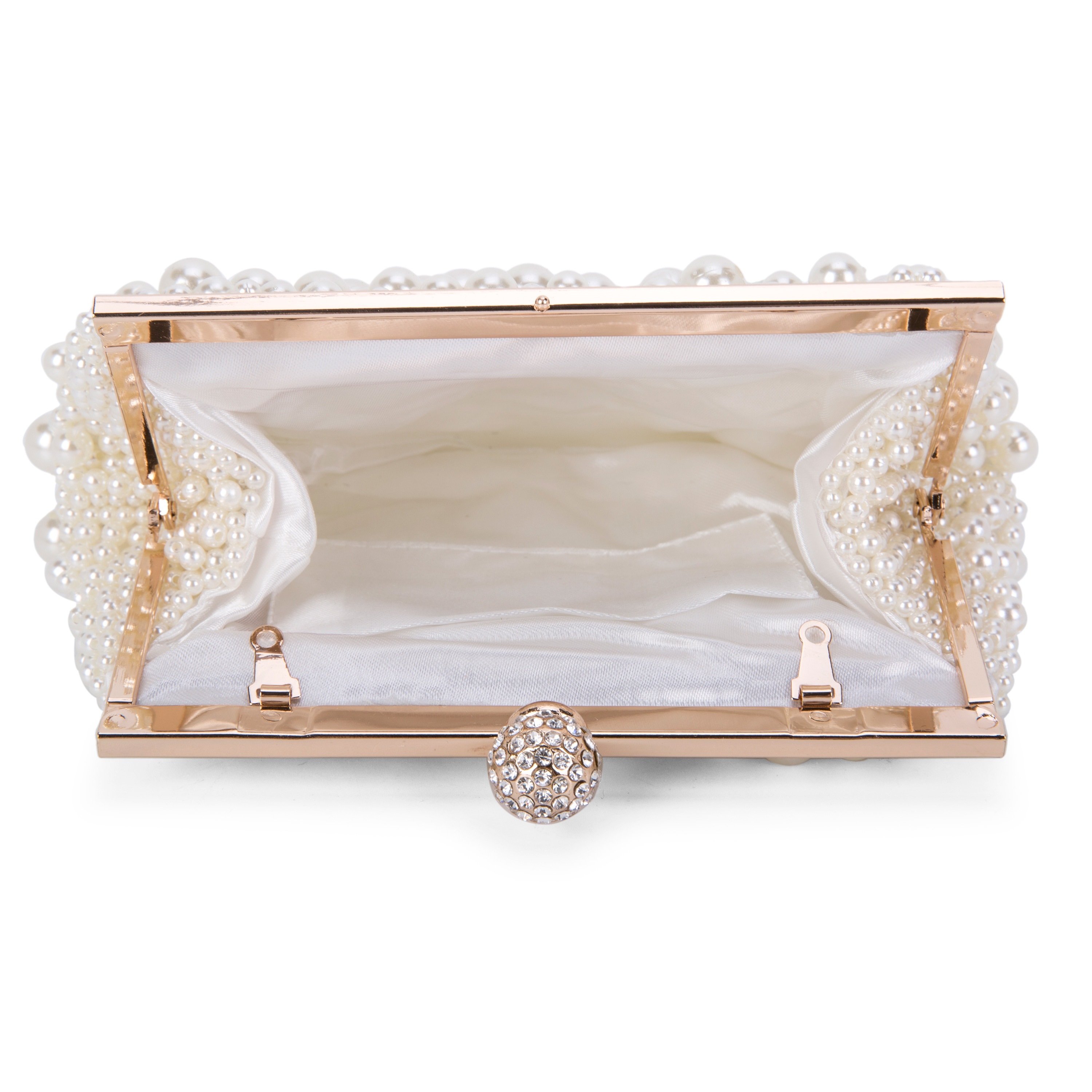 Polyester Banquet Korean Clutches & Evening Bags
