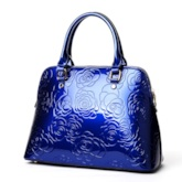 Graceful Rose Embossed Women Bag Sets