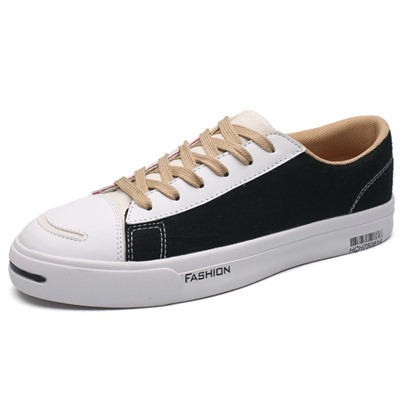Canvas Platform Skate Shoes Men's Sneakers