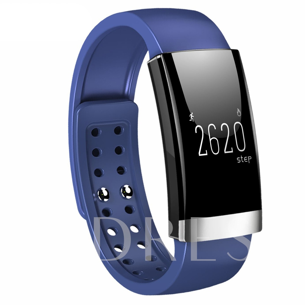MS01 Bracelet Smart Watch Support Heart Rate Monitor for Apple Android Cellphones