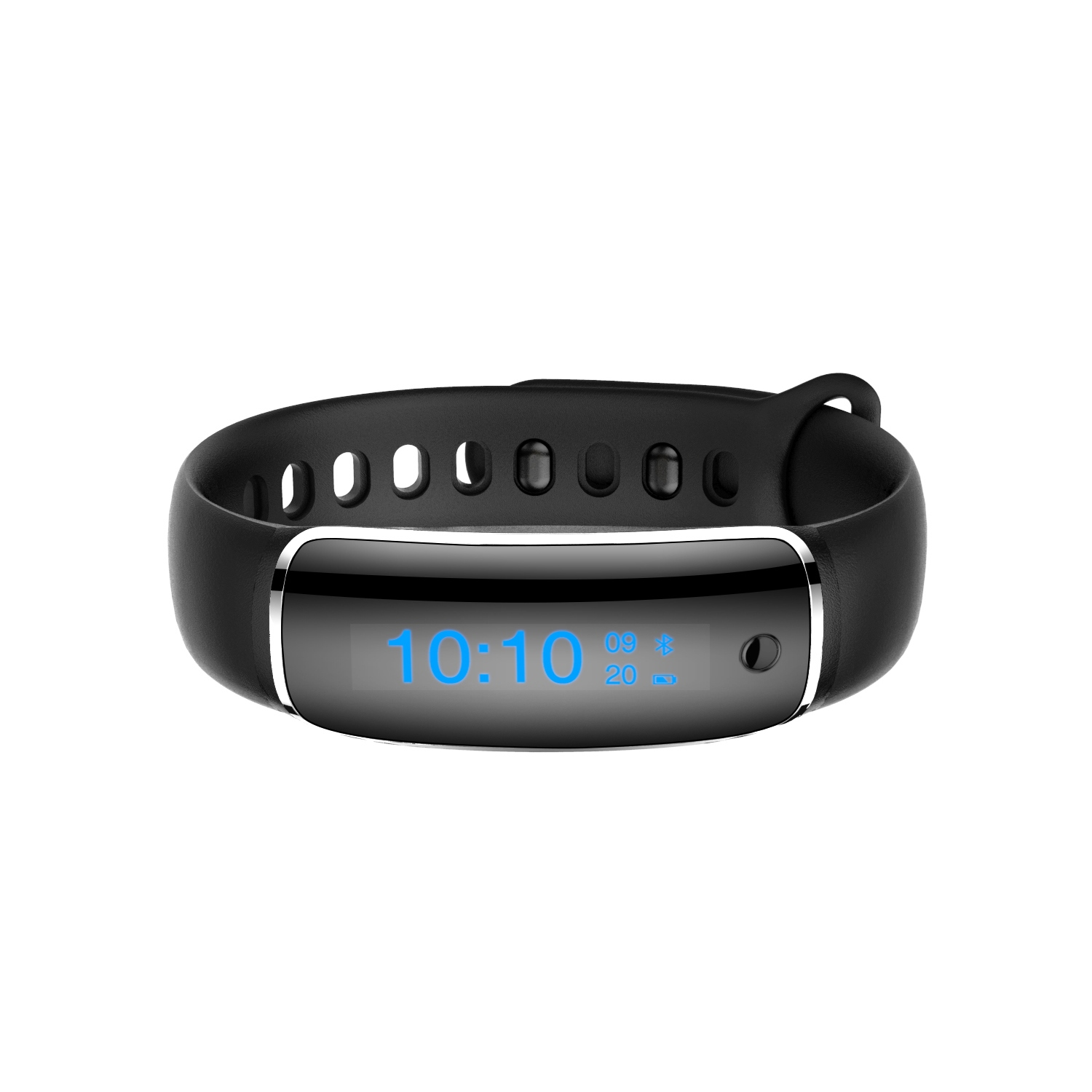 V8 Waterproof Fitness Tracker Curved Screen for Apple Android Phones