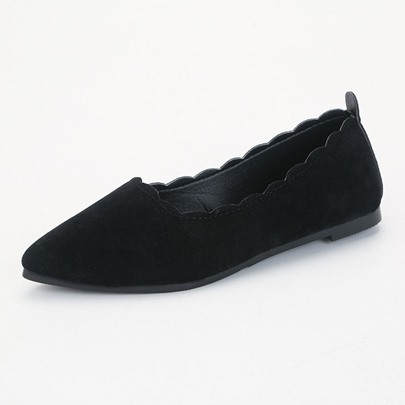 Four Color Pointed Slip-On Women's Flats