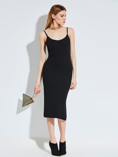 Spaghetti Strap Backless Women's Party Dress