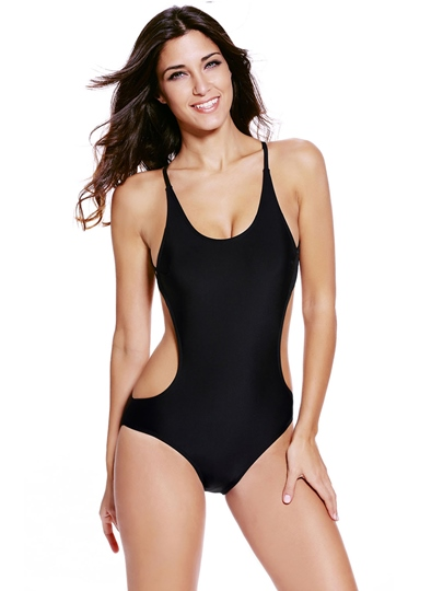 Stylish Sexy Lace-Up One Piece Swimwear