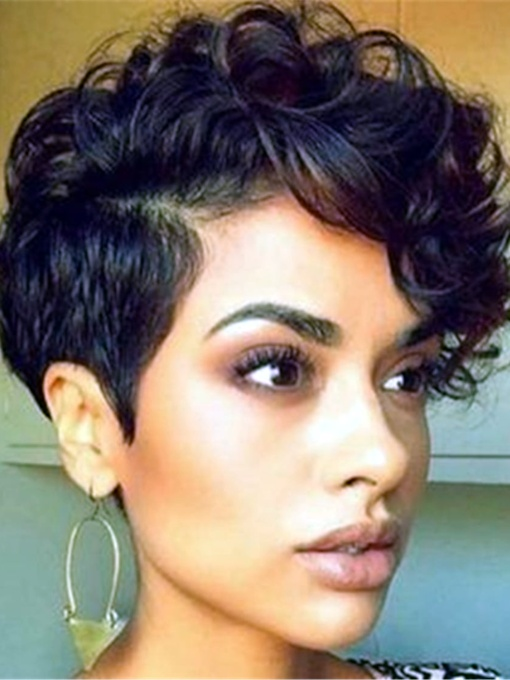 Curly Women 120% Short Wigs