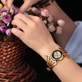 Personalized Irregular Dial Quartz Artificial Leather Watches