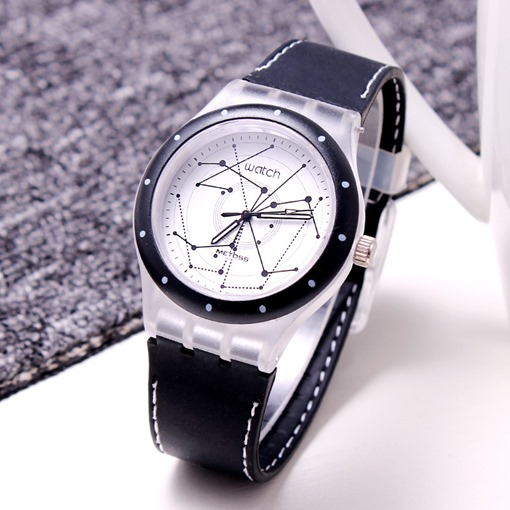 Montres à quartz homme à constellation pattern