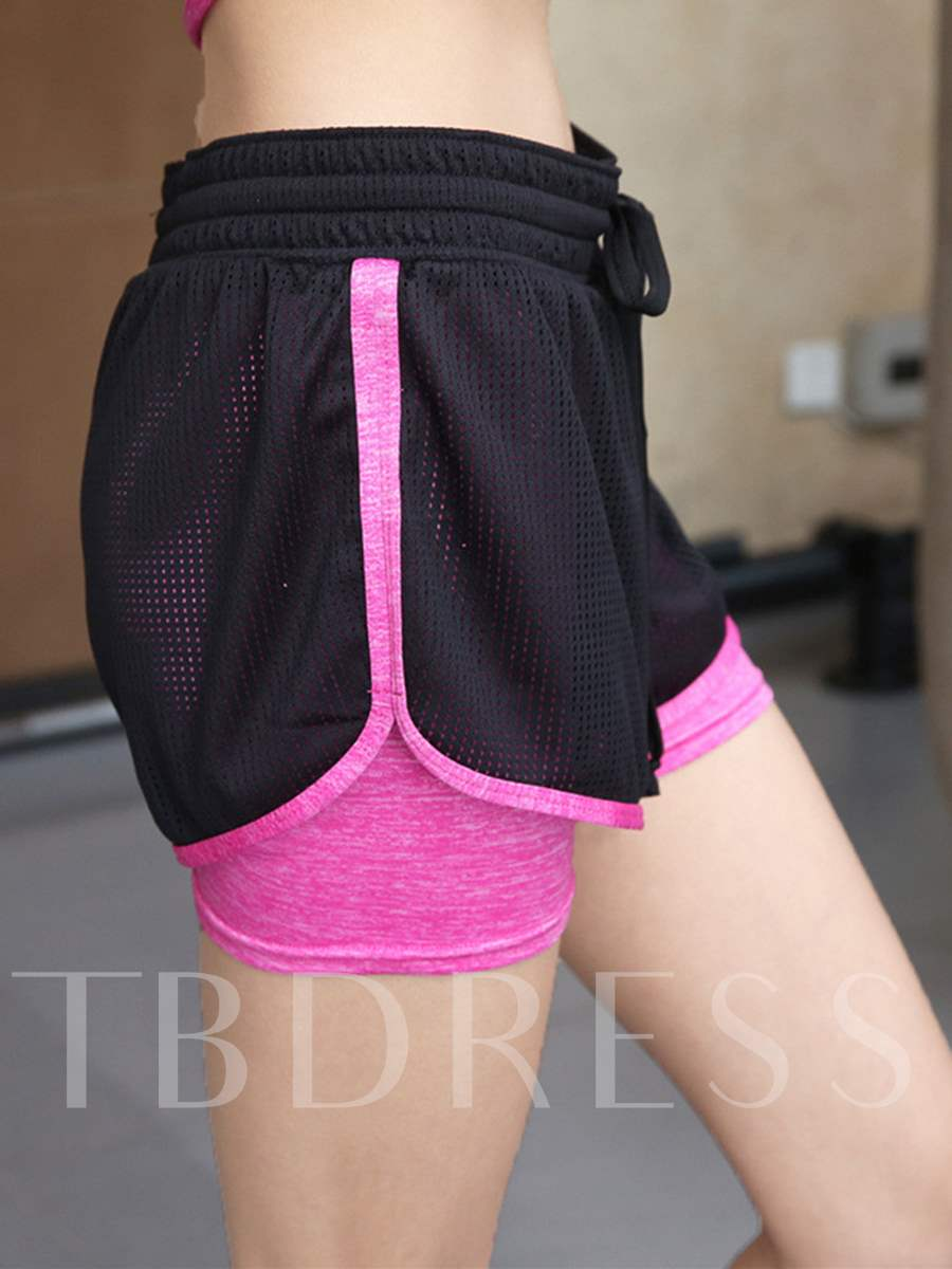 Mesh Breathable Women's Sports Shorts