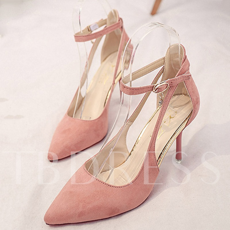Pointed Thin Heel Women's Pumps