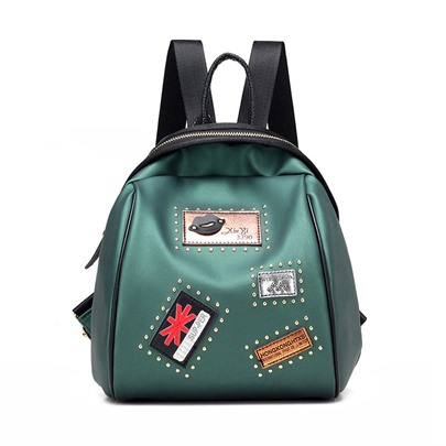 Preppy Style Badge Decoration Women's Backpack