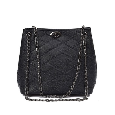 Vogue Style Double Chain Cross Body Bag