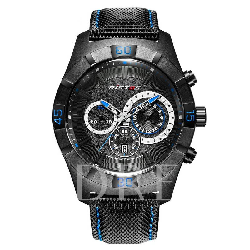 Hardlex Three Eye Table Luminous Men's Watches