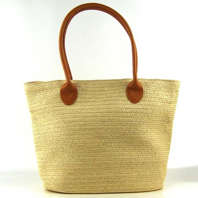 Beach Wind Cylinder Type Women Straw Bag