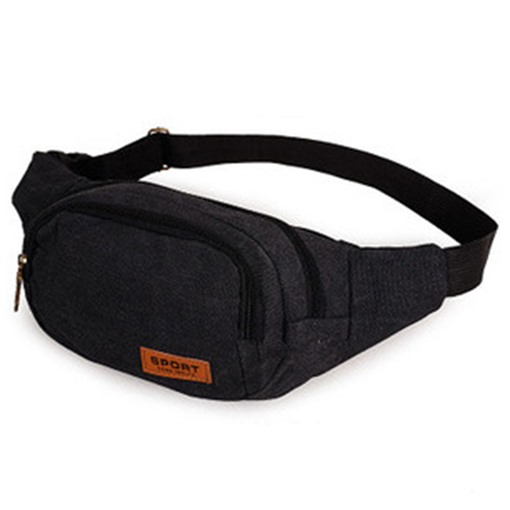 Leisure Outdoor Dumpling Shape Men's Waist Bag