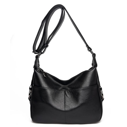 Dumpling Shape Washable PU Cross Body