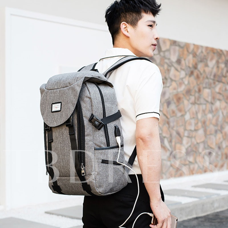 Korea Style Intelligent Travel Men's Backpack
