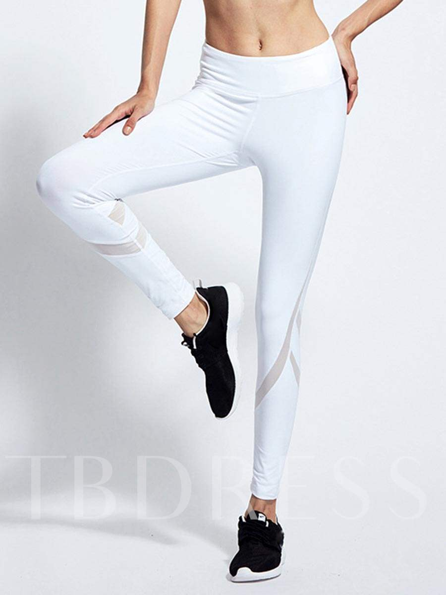 Solid Color Fast Dry Women's Sports Leggings