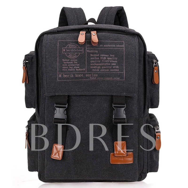 Leisure Travel Washable Canvas Men's Backpack