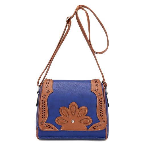 Retro Floral Decoration Pillow Shape Cross Body