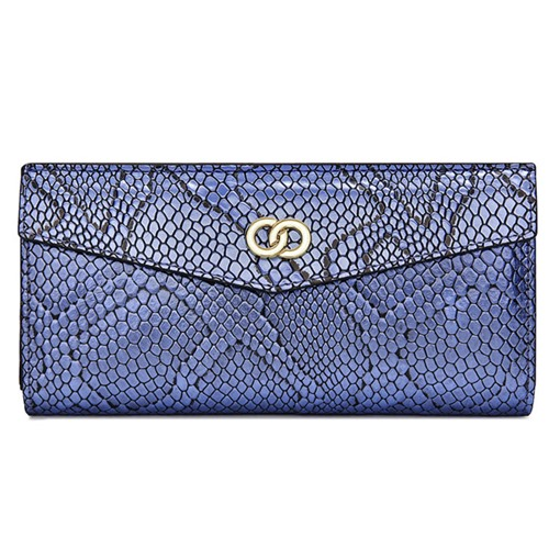 Luxurious Style Snake Grain Women's Wallet