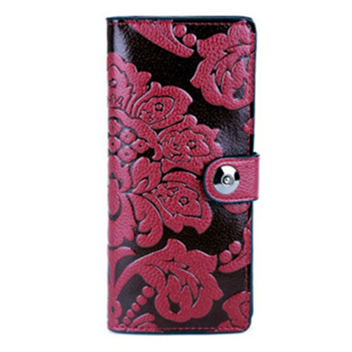 Classic Ethnic Style Embossed Women Wallet