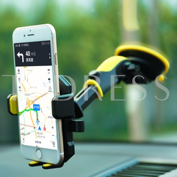 Adjustable Car Phone Holder Mount with Strong Sticky Gel Pad for iPhone Android