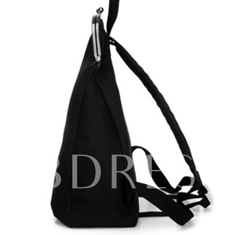 Contracted Korean Style Embroidery Women Backpack