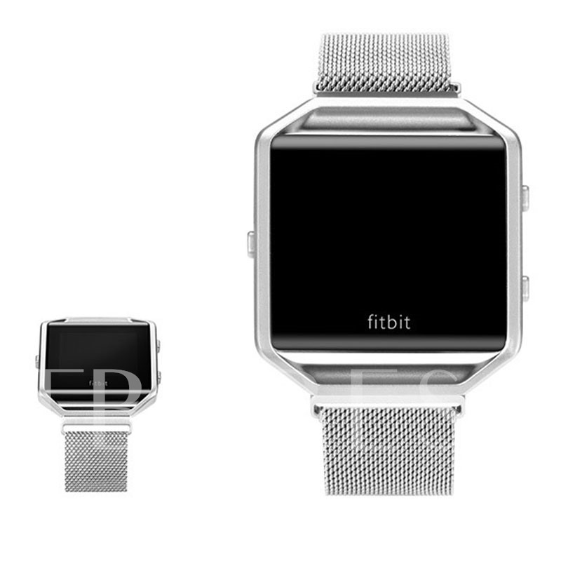 Fitbit Blaze Watch Band,Stainless Steel Smart Watch Strap Wearable Tech