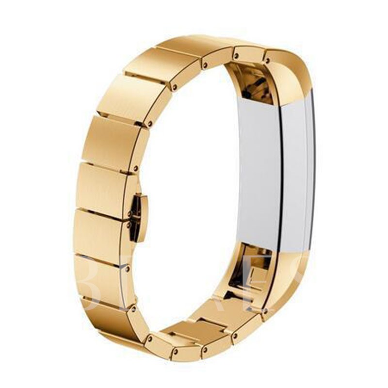 Fashionable Stainless Steel Smart Watch Band for Fitbit Alta Wristband Wearable Tech