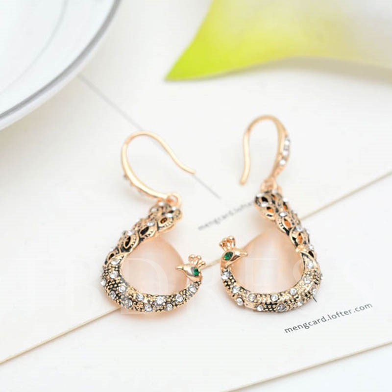 Pink Rhinestone Diamante Two Piece Jewelry Sets