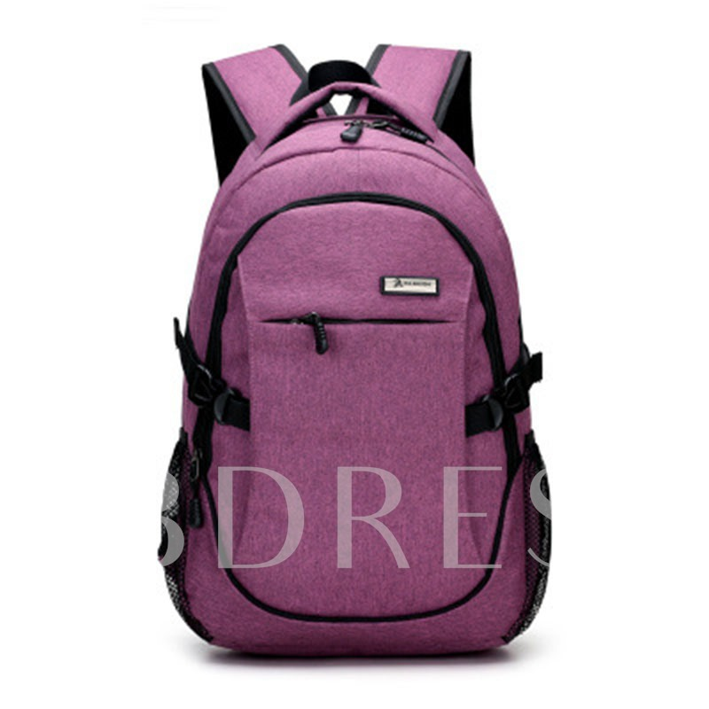 Korean Trendy Cool Style Canvas Backpack