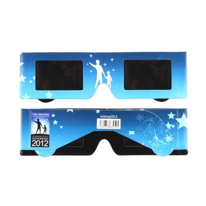 Resin Lens Solar Eclipse Glasses(Only White Color)