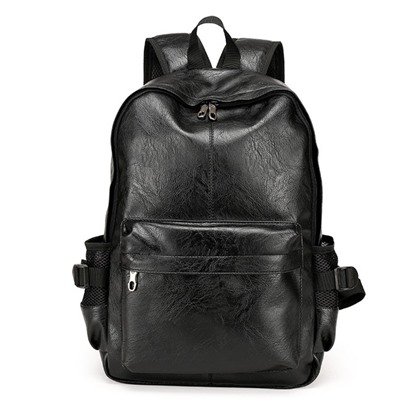 Korean Style Fashion Men's PU Backpack