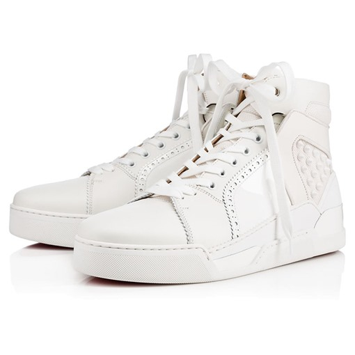 Rubber Outsold Lace-Up PU Mid-Cut Upper Men's Basketball Shoes