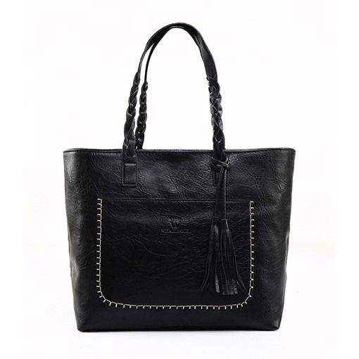 Retro All-match Tassel Pendant Shoulder Bag