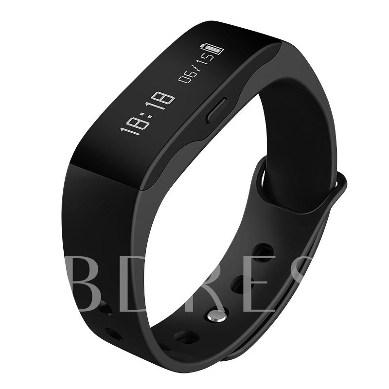 Compatible Bluetooth PU Smart Sports Watch
