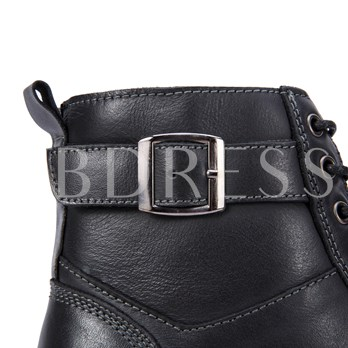 England Style Rush Off Men's Motorcycle Boots