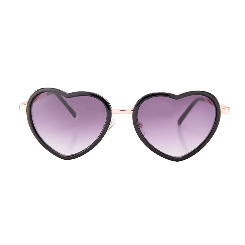 Heart-Shaped Gradient Sunglasses