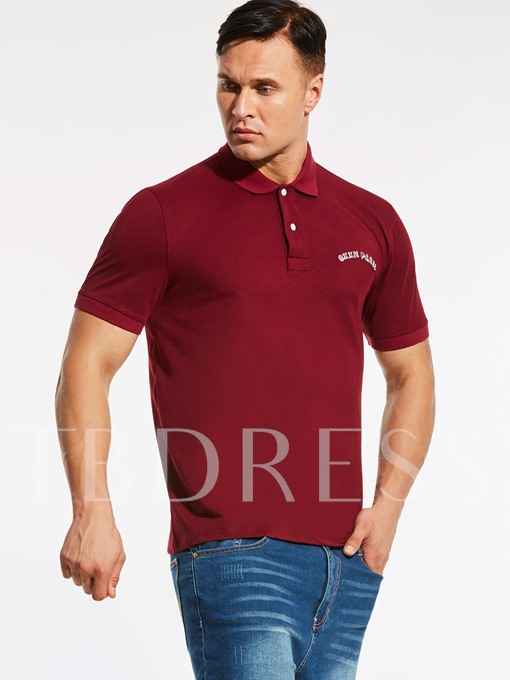 Plus-Size Lapel Loose Men's Casual Polo
