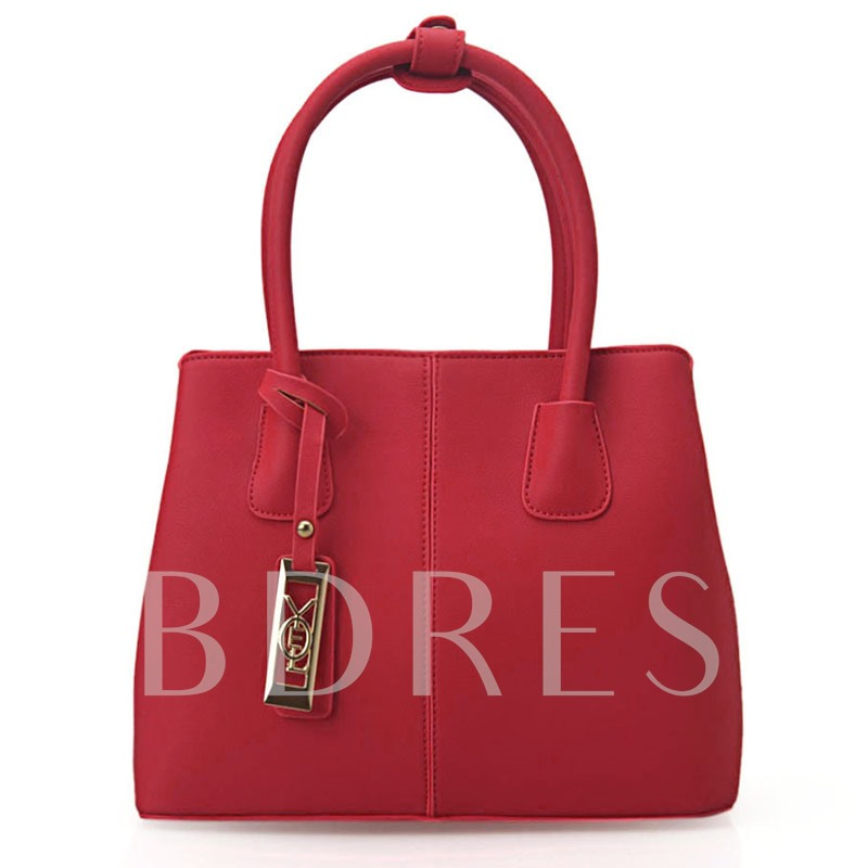 Vogue OL Style Bucket Shape Tote Bag