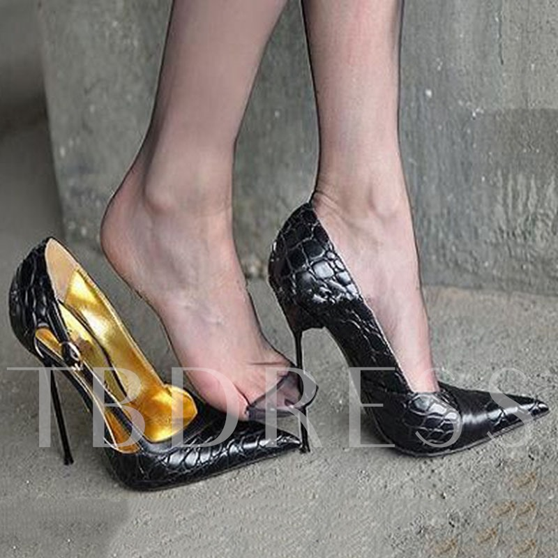Pointed Toe High Heel Women's Sexy Party Shoes