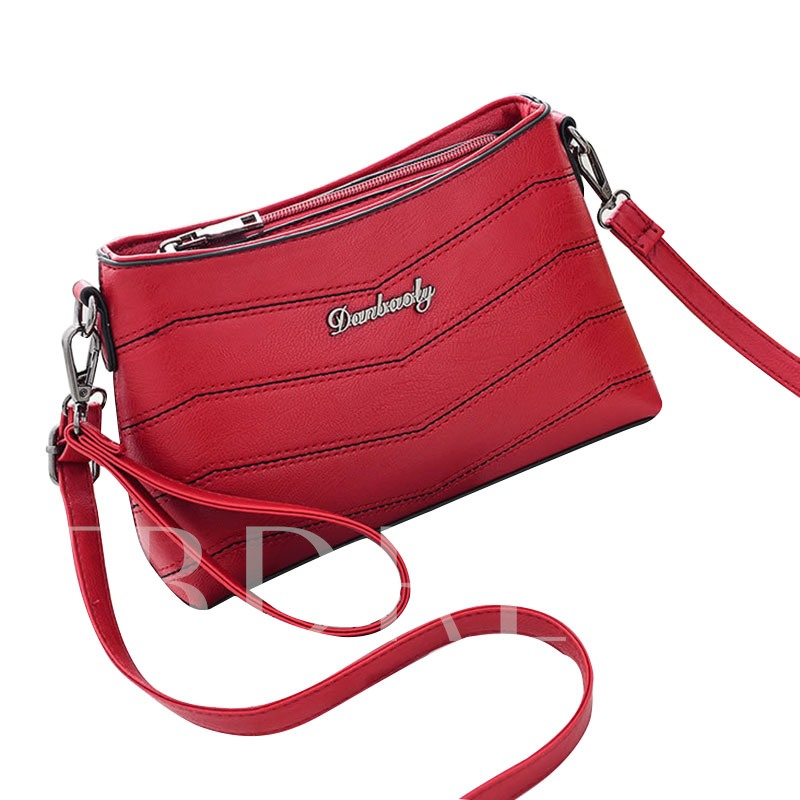 Leisure Water Ripple Stripe Cross Body Bag