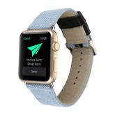 Apple Watch Replacement Band,Camouflage Artificial Leather 38mm/42mm Watch Strap