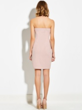 Pink Bandage Women's Party Dress