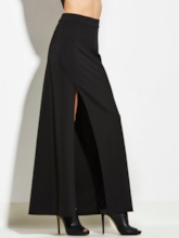 Black High-Waist Slim Women's Skirt