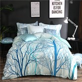 Tree Plant 4-Piece Bedding Sets/Duvet Covers